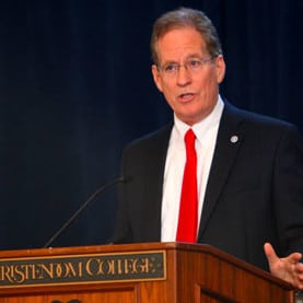 College President Dr. Timothy O'Donnell to Speak on Spirit Mornings Radio Show