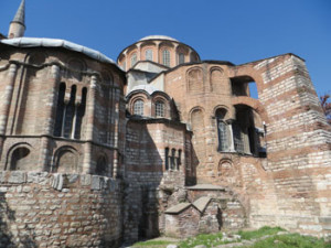 The-exterior-of-the-Chora-Church