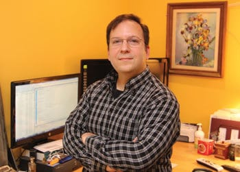 Alumnus Matthew Gelis, owner of Veraprise, Inc.