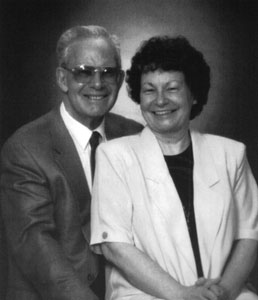 Bill McGraw with his wife, Onalee