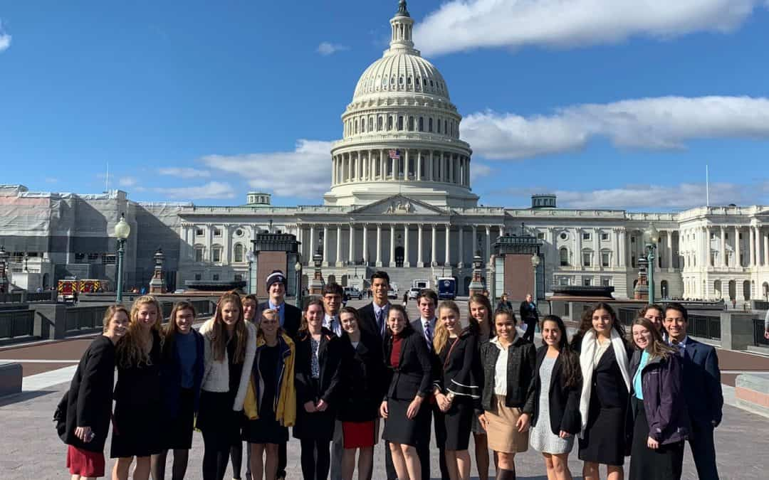 Christendom Students Visit The Heritage Foundation