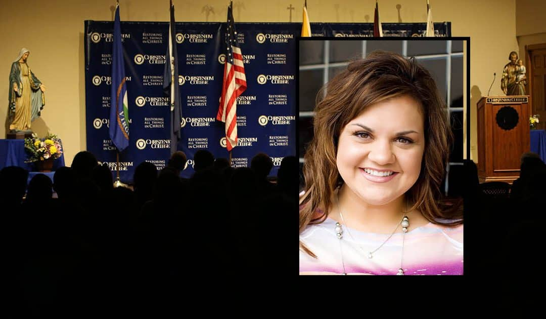 Pro-Life Leader Abby Johnson to Speak at Christendom