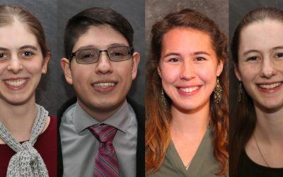 Classics Students Win Awards, Prestigious Fellowships