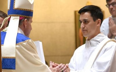 New Priests, Deacons Celebrate Vocations