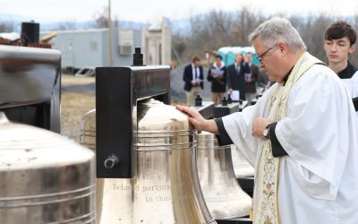 Baptized Bells of Christ the King Chapel to Bless the Faithful Throughout the Shenandoah Valley