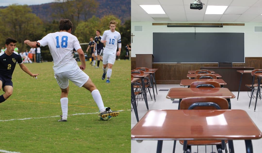 Student-Athletes Find Success on the Field and in the Classroom