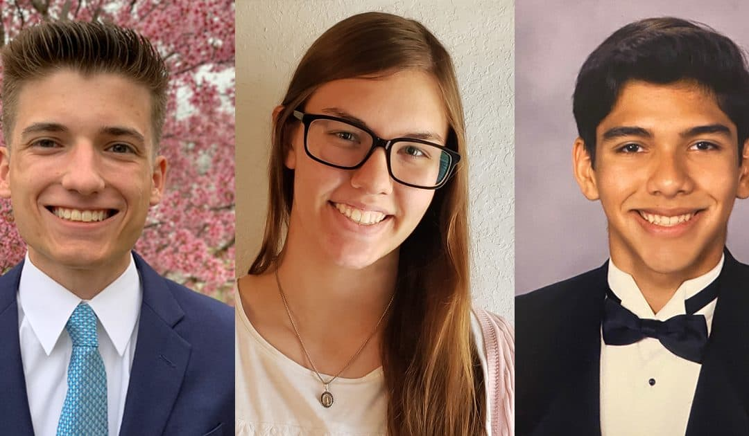 2021 Full-Tuition Scholarship Winners Announced